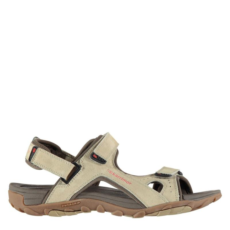 Karrimor Antibes Leather Sandals Ladies Beige