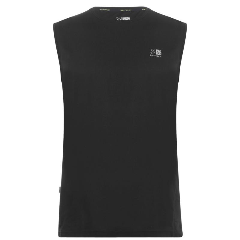 Karrimor Sleeveless T Shirt Mens Black