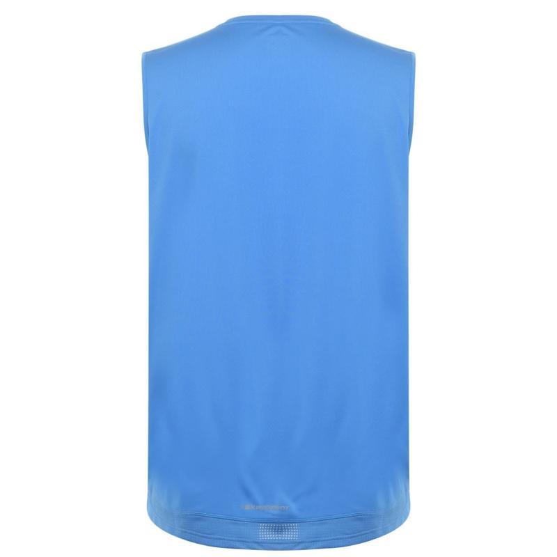 Karrimor Sleeveless T Shirt Mens Blue