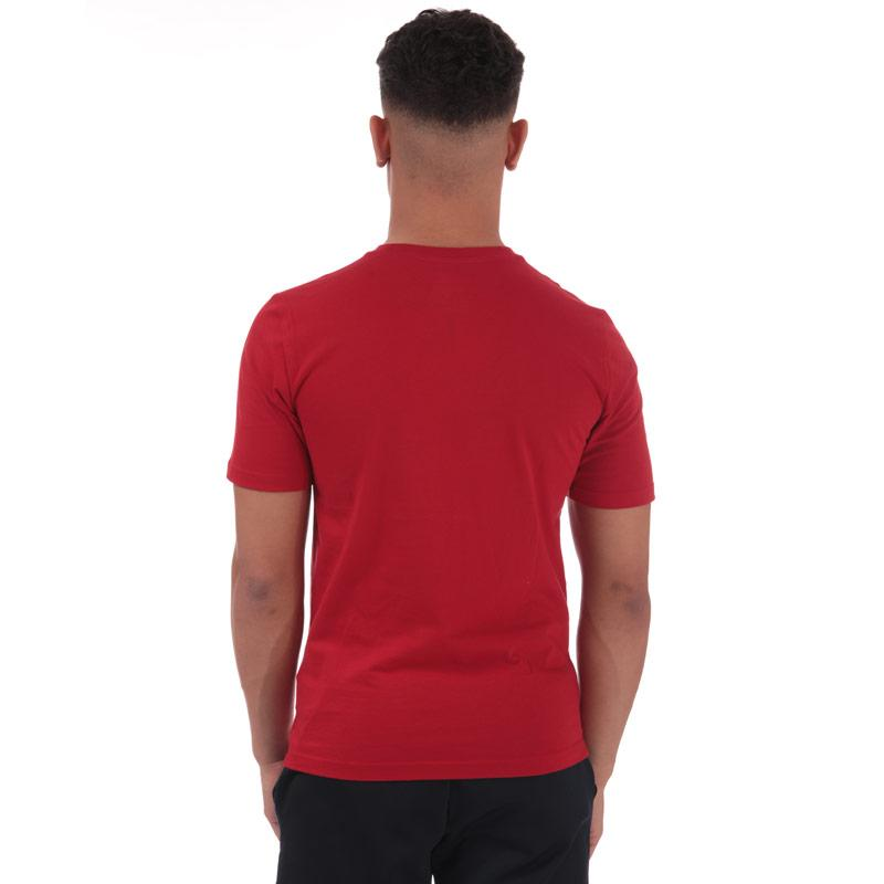 Tričko New Balance Mens Essentials Stacked Logo T-Shirt Red