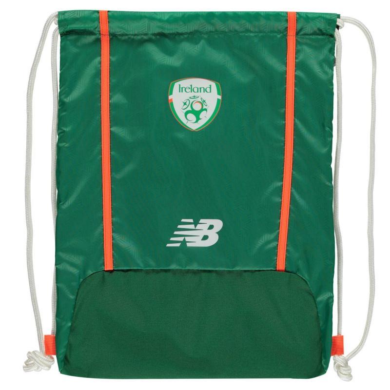 New Balance Balance Ireland Gym Sack Jolly Green/Wht