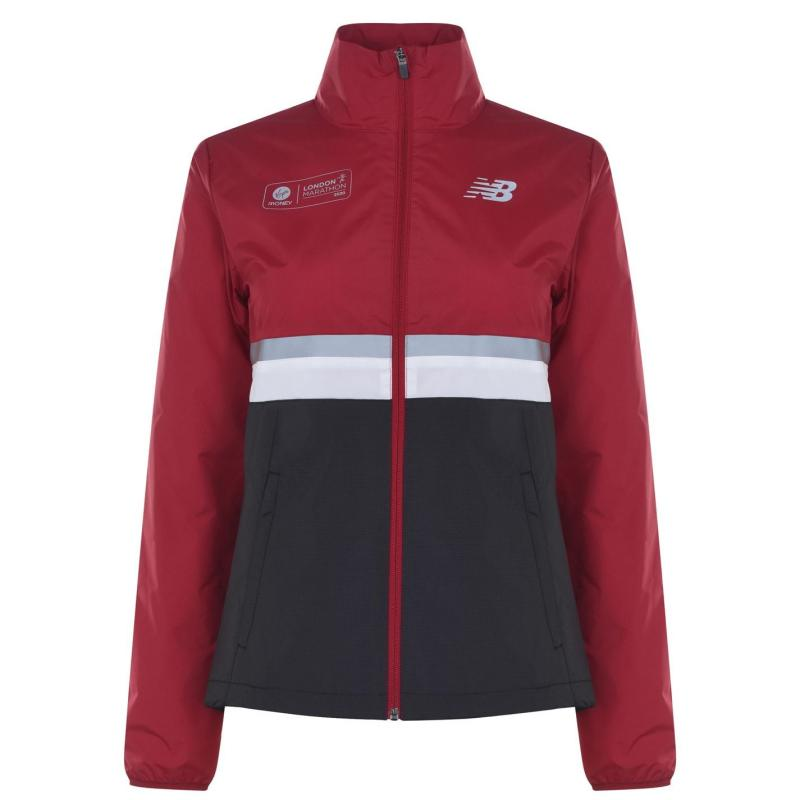 New Balance London Edition Jacket Ladies Red/Black