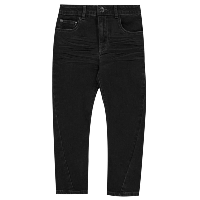 Kalhoty Firetrap Slouch Jeans Infant Boys Petrol