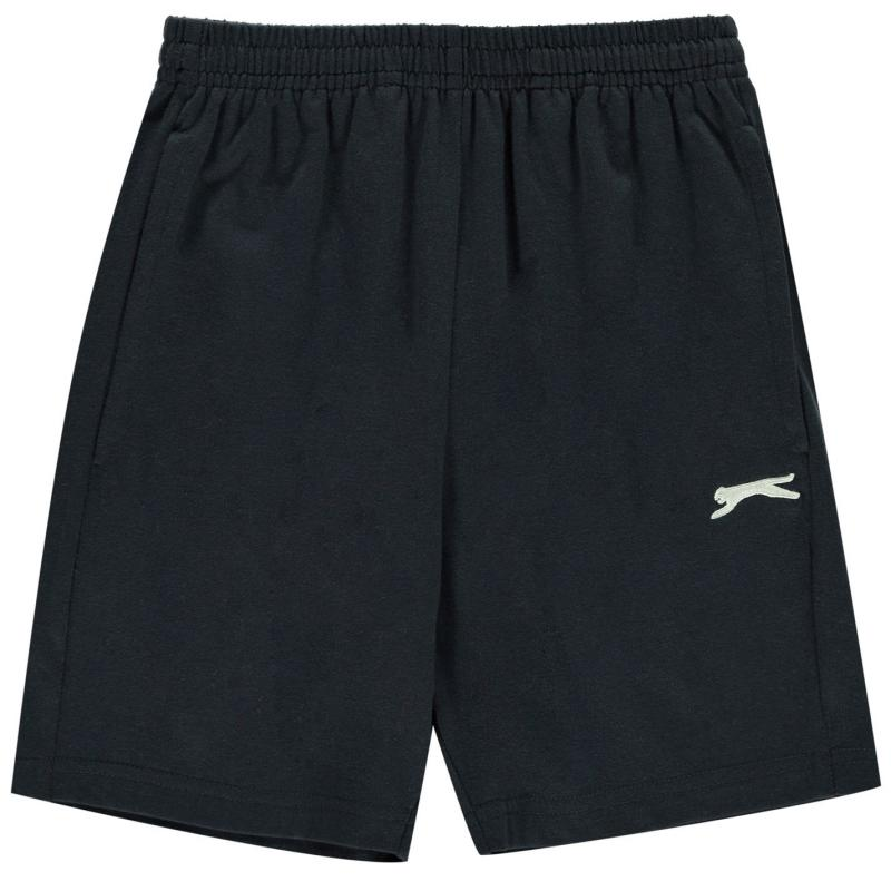 Kraťasy Slazenger Jersey Shorts Junior Boys Navy