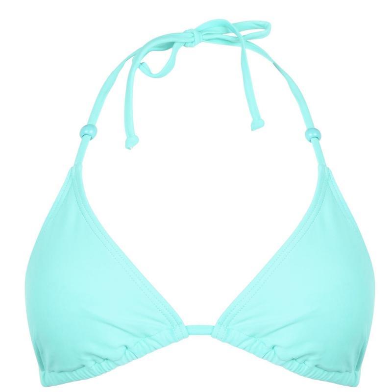 Plavky Gul Triangle Bikini Top Ladies Aqua