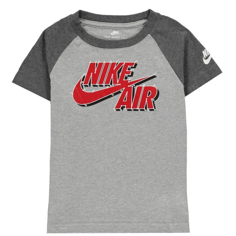Tričko Nike Swoosh Season T-Shirt Infant Boys Grey Dots