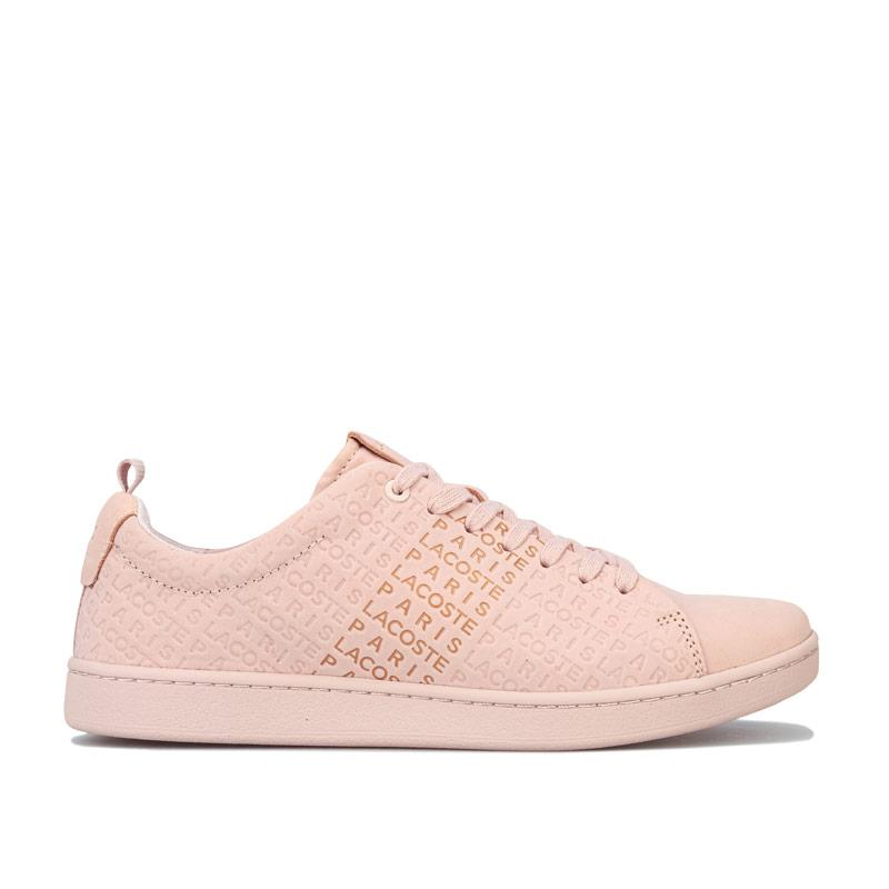 Lacoste Womens Carnaby Evo Trainers Natural