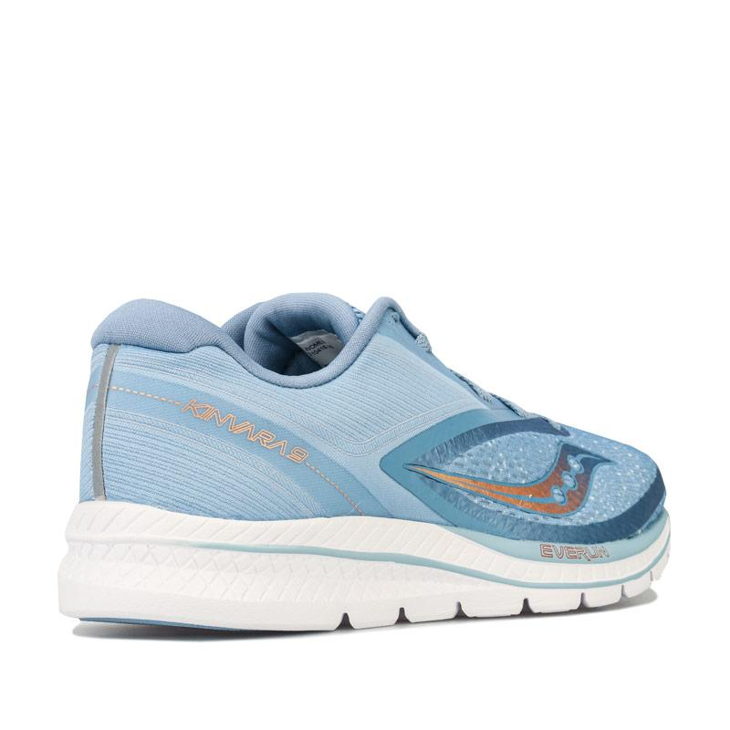 Saucony Womens Kinvara 9 Running Shoes Light Blue