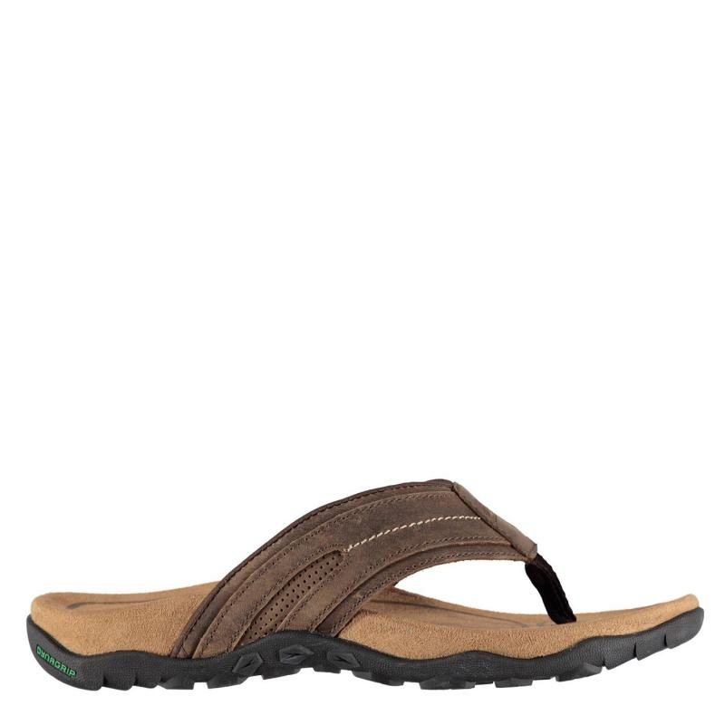 Karrimor Lounge Flip Flops Mens Brown