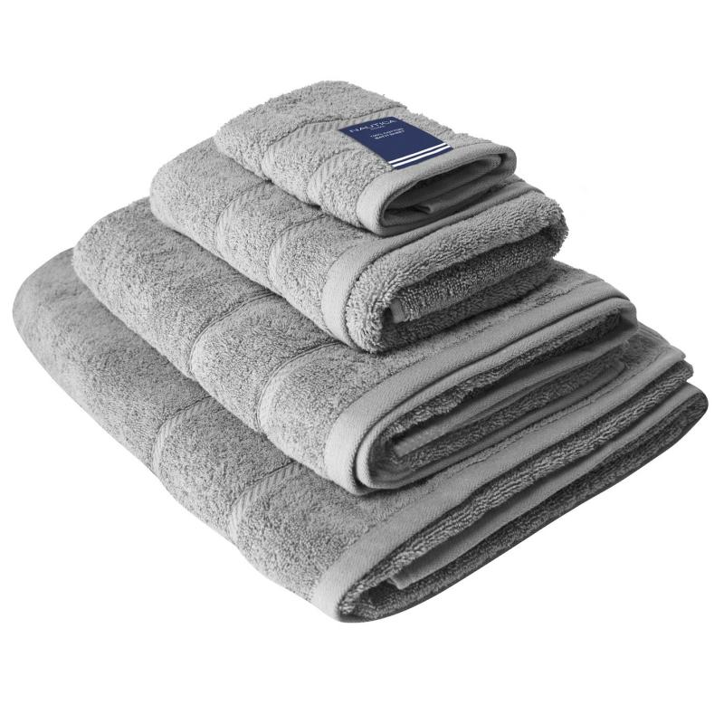 Nautica Plain Dye Towel Mid Grey