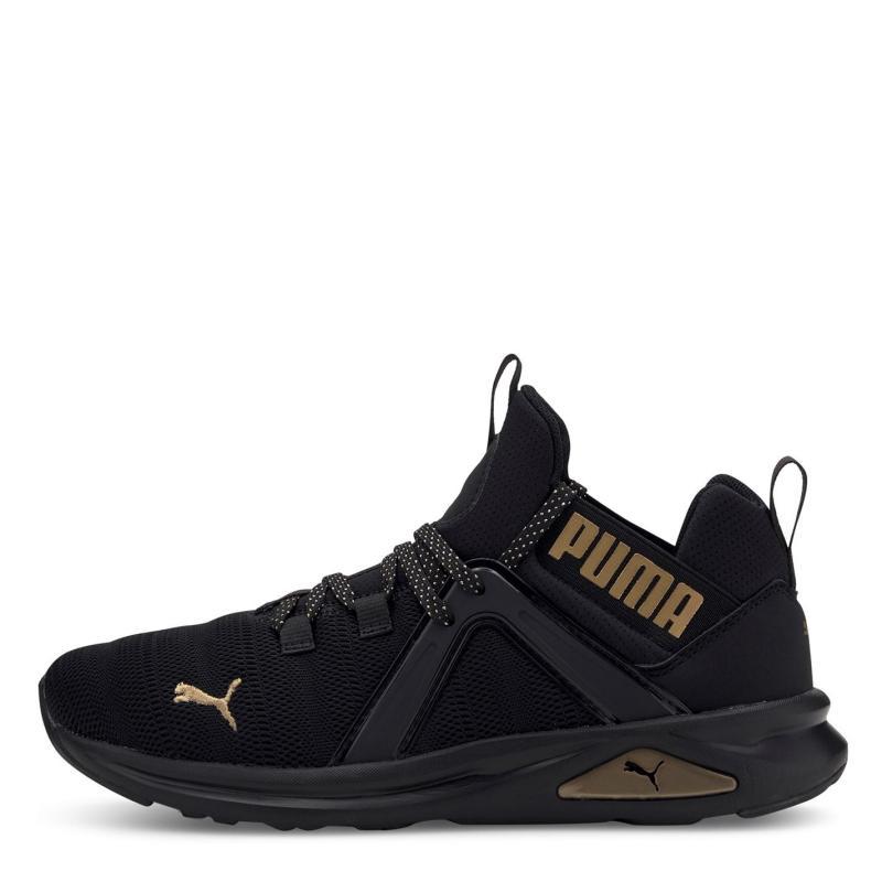 Puma Enzo 2 Ladies Trainers Black/Gold