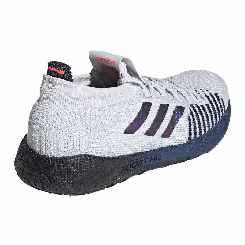 Adidas Pulseboost HD Mens Running Shoes Gry/Tec Ind