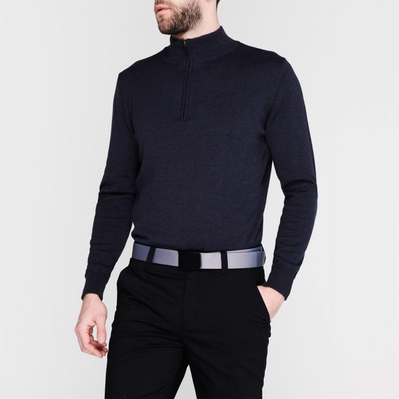 Calvin Klein Golf Half Zip Sweater Denim