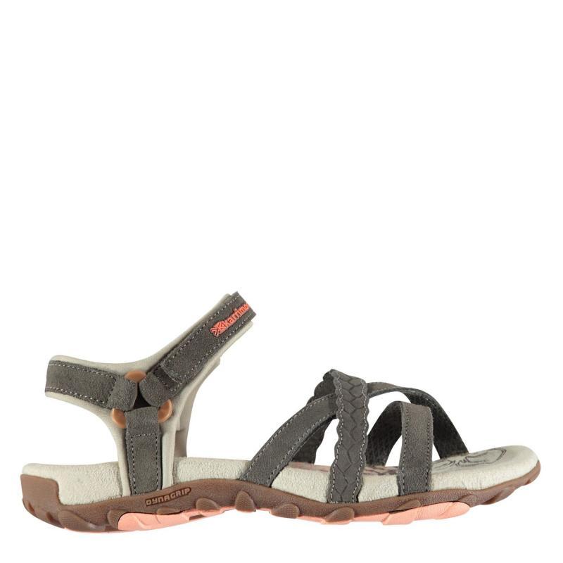 Karrimor Salina Leather Ladies Walking Sandals Brown