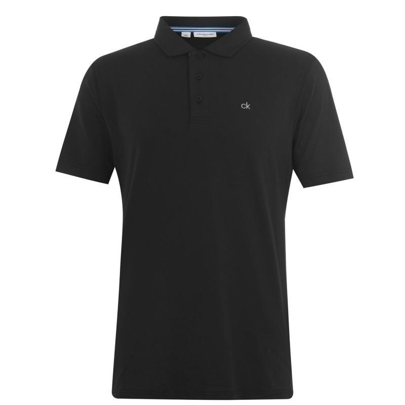 Calvin Klein Golf Newport Polo Shirt Black