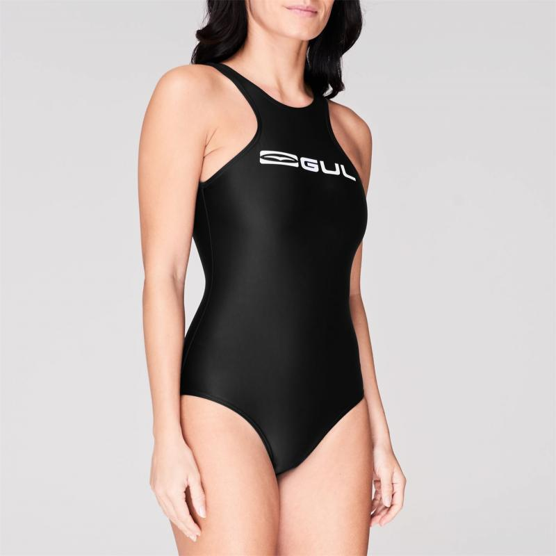 Plavky Gul Logo Swimsuit Ladies Black