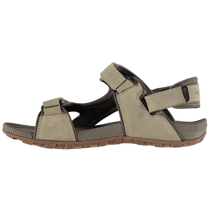 Karrimor Antibes Leather Mens Walking Sandals Beige