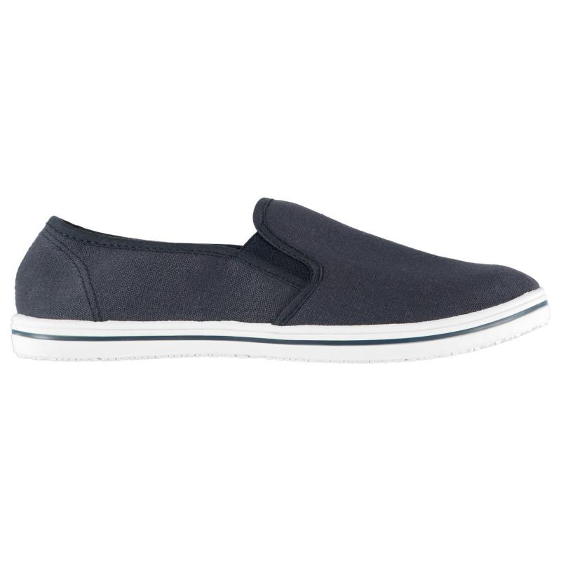Boty Slazenger Slip On Junior Canvas Shoes Navy