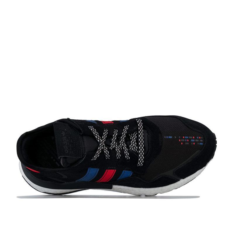 Adidas Originals Mens Nite Jogger Trainers Black Royal