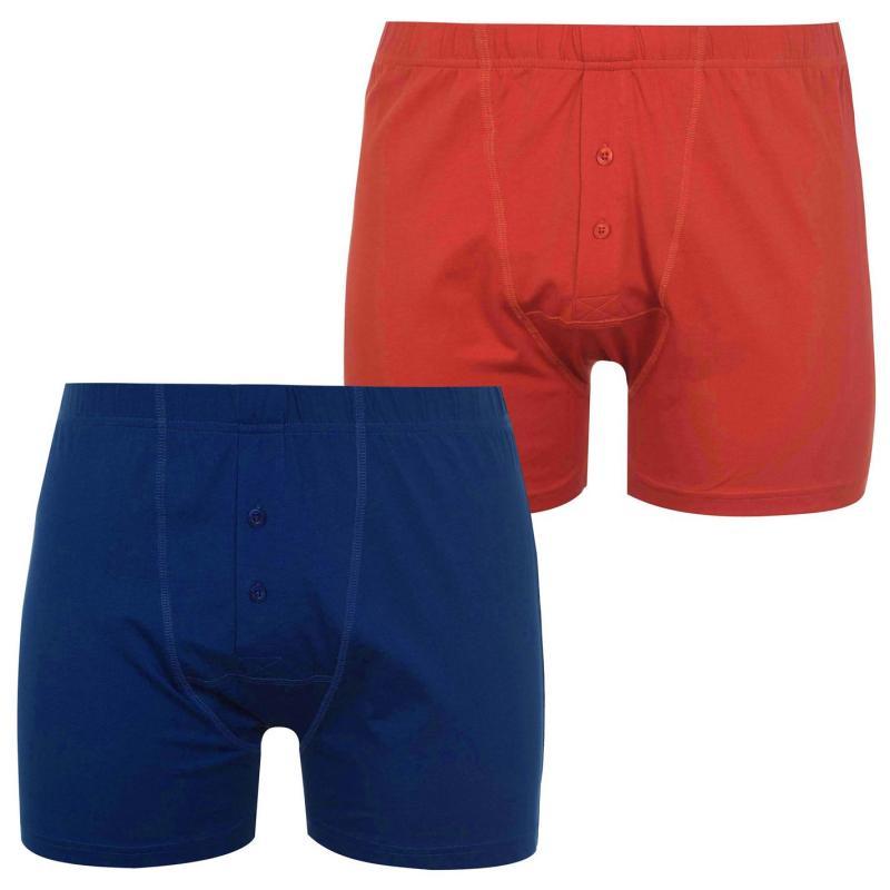 Spodní prádlo Slazenger 2 Pack Boxers Mens Pumpkin