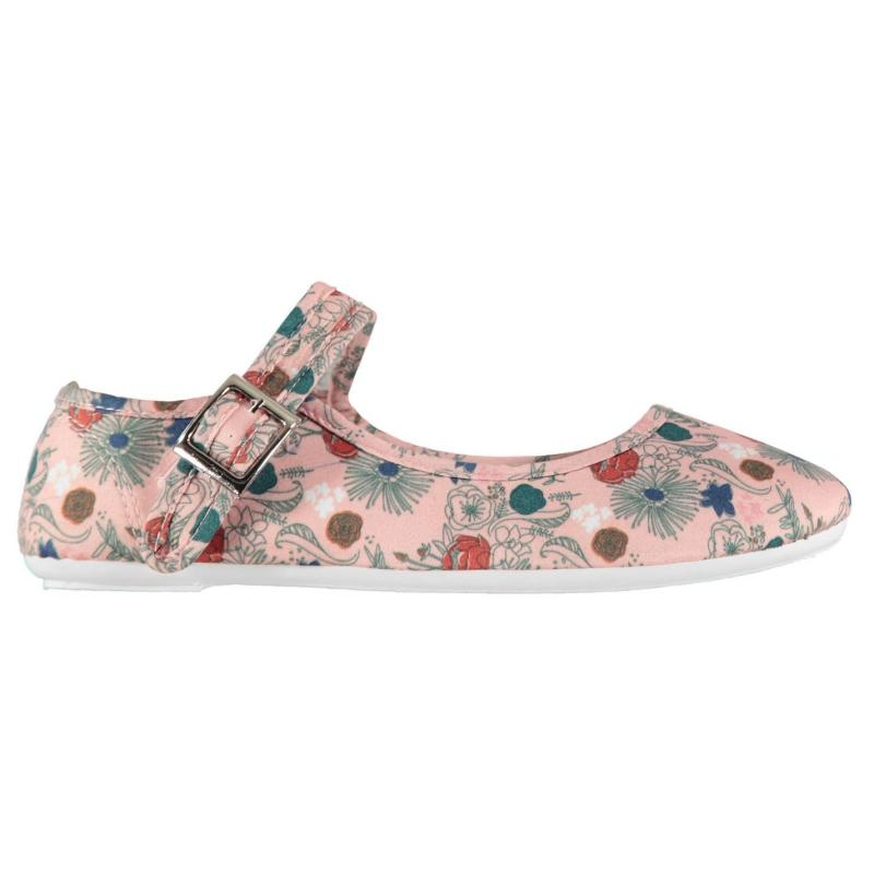 Obuv Slazenger Canvas Mary Jane Ladies Shoes Floral