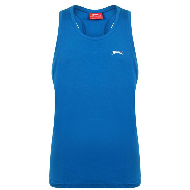 Tílko Slazenger Muscle Vest Mens Teal Blue
