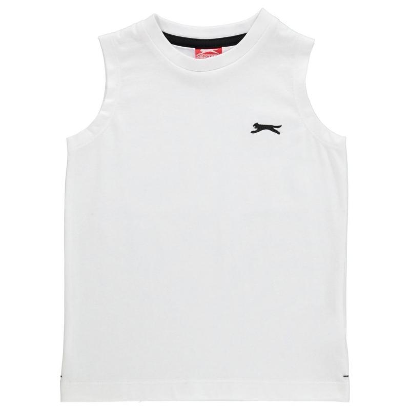 Tílko Slazenger Sleeveless T Shirt Infant Boys White