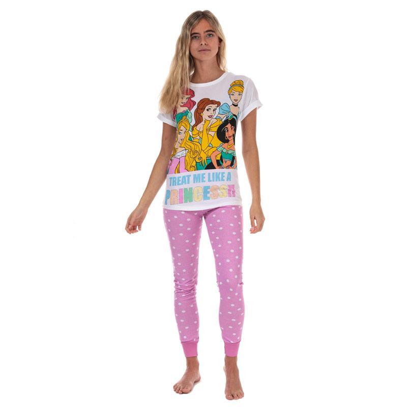 Pyžama Womens Disney Princess Pyjamas Pink