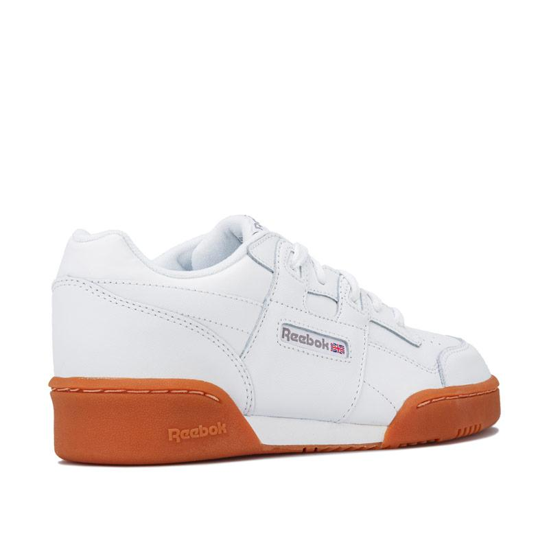 Boty Reebok Classics Junior Boys Workout Plus Trainers White