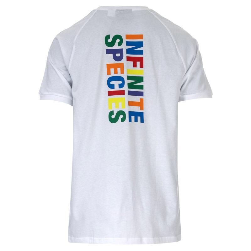 Tričko Adidas Originals Mens Pharrell Williams HU TBIITD T-Shirt White