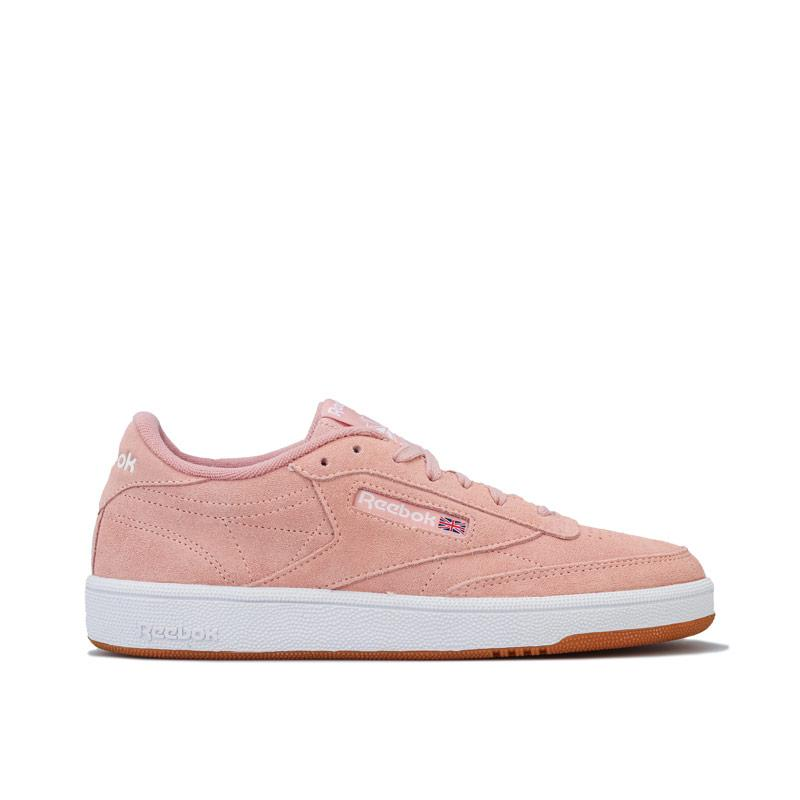 Reebok Classics Womens Club C 85 Trainers Peach