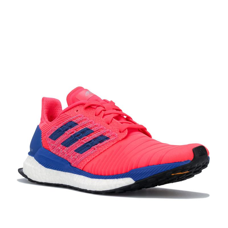 Adidas Womens Solar Boost Running Shoes Red