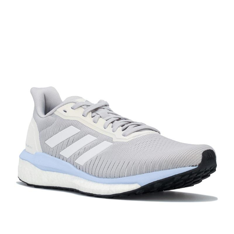 Adidas Womens Solar Drive 19 Running Shoes Light Grey