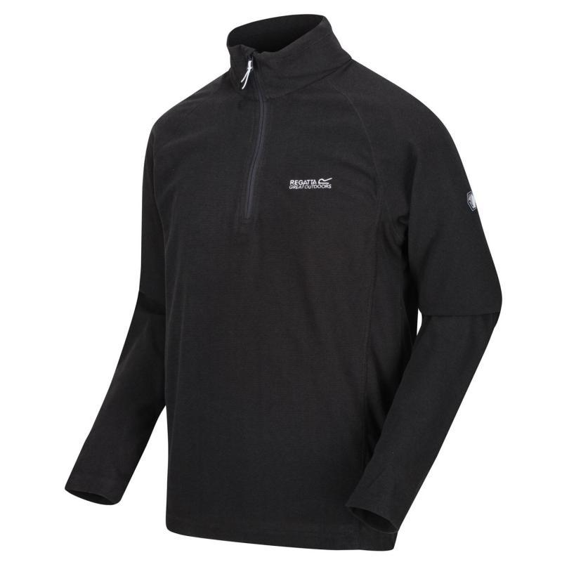 Regatta Montes Quarter Zip Fleece 800 Black