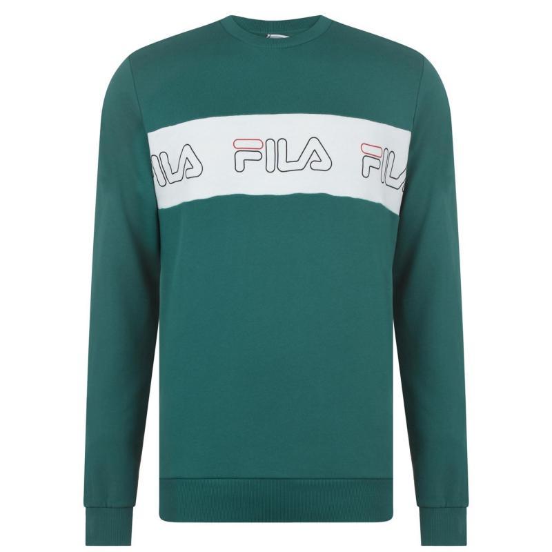 Mikina Fila Benny Crew Sweatshirt Mens Green