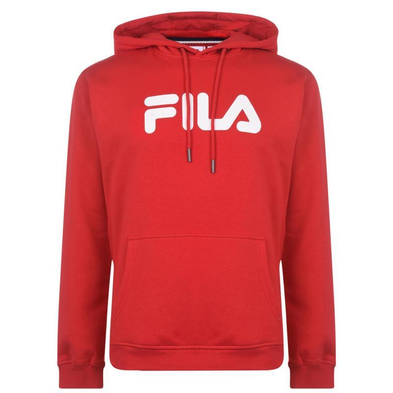 Mikina Fila Line Urban Hoodie Mens Red
