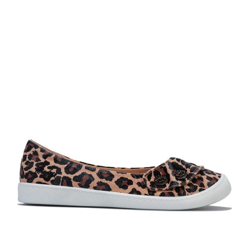 Blowfish Malibu Womens Kona Ballet Shoes Leopard