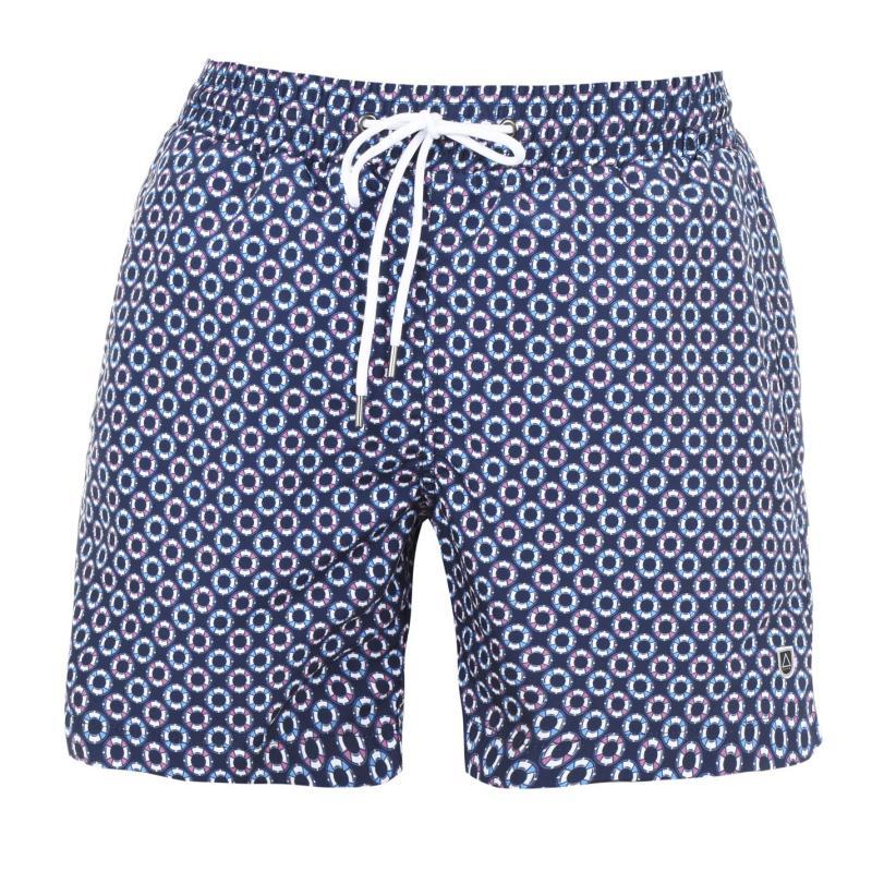 Plavky Verte Vallee Print Swim Shorts Oceanique