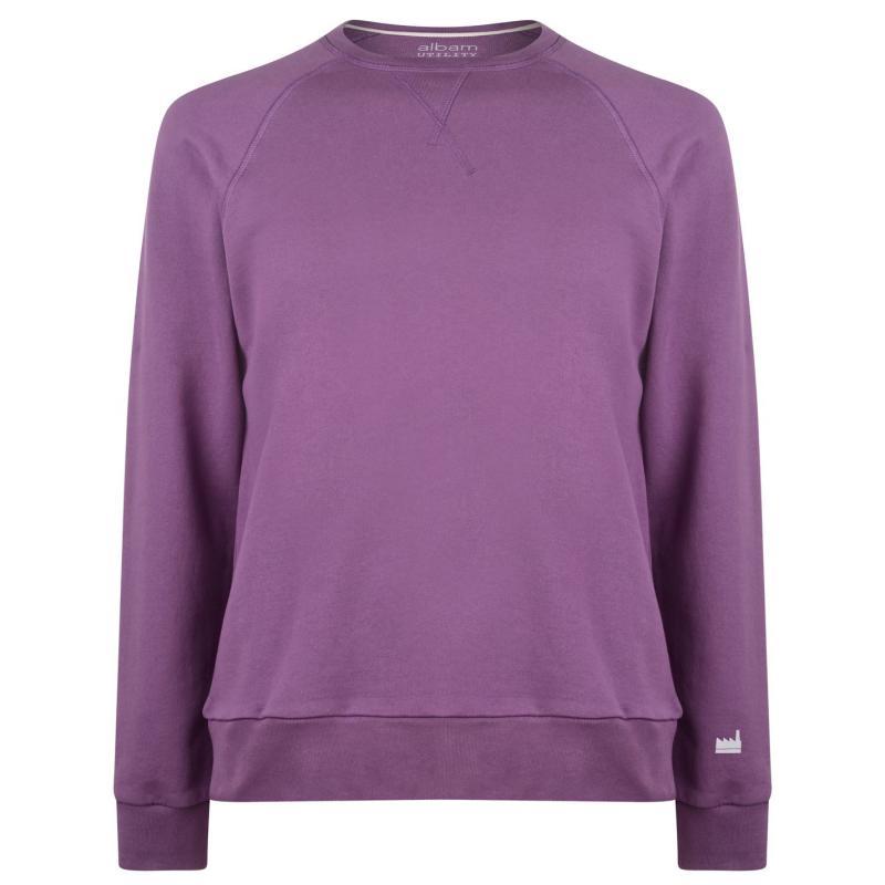 Mikina Albam Utility Raglan Sweatshirt Purple