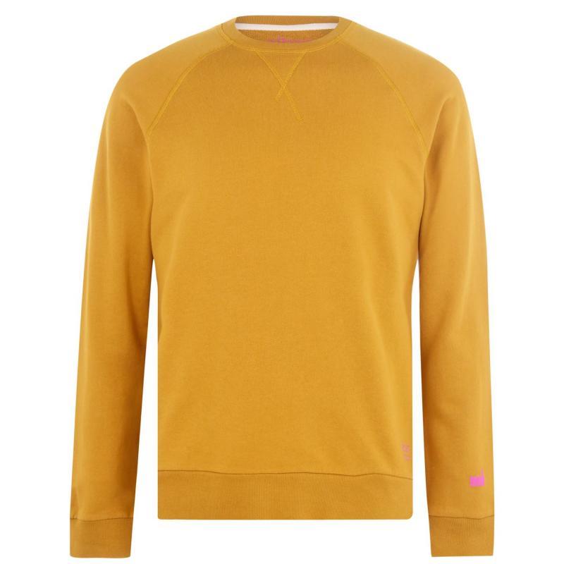 Mikina Albam Utility Raglan Sweatshirt Tobacco