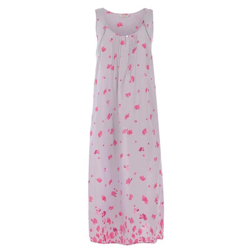 Pyžama Nora Rose Nora Rose Vintage Petal Dress Womens LIGHT GREY