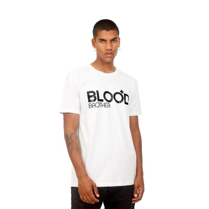 Tričko Blood Brother Tee White