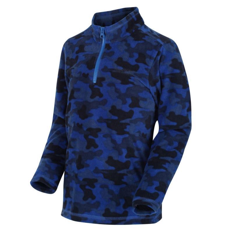 Regatta Jubblie Fleece Junior Boys Blue Camo