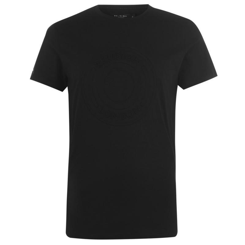 Tričko Religion Injection T-Shirt Black