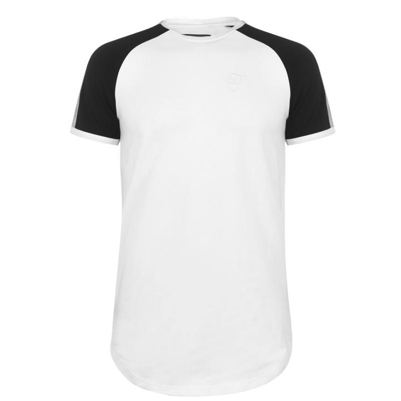 Tričko Hardcore Hudson T Shirt White/Black