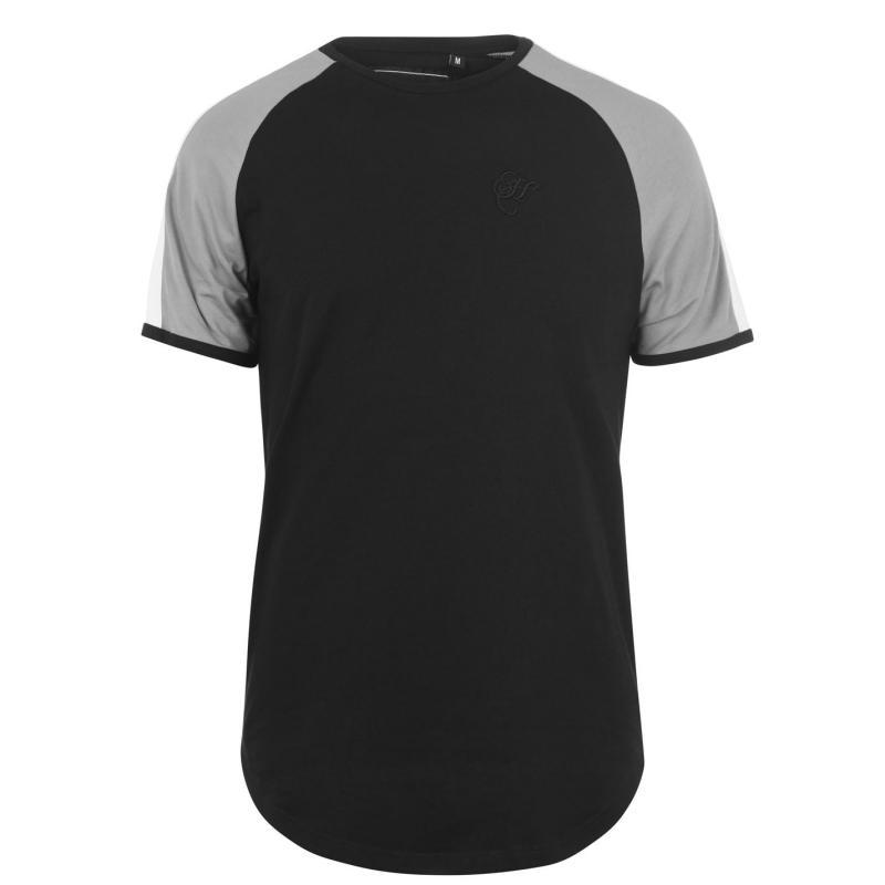 Tričko Hardcore Hudson T Shirt Black/Grey