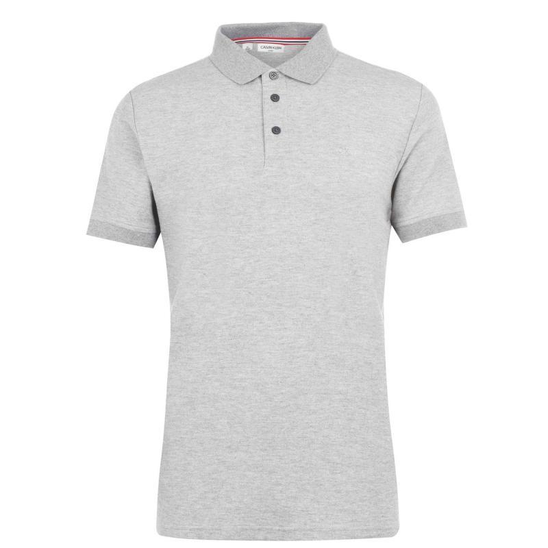 Calvin Klein Golf Calvin Midtown Polo Shirt Grey