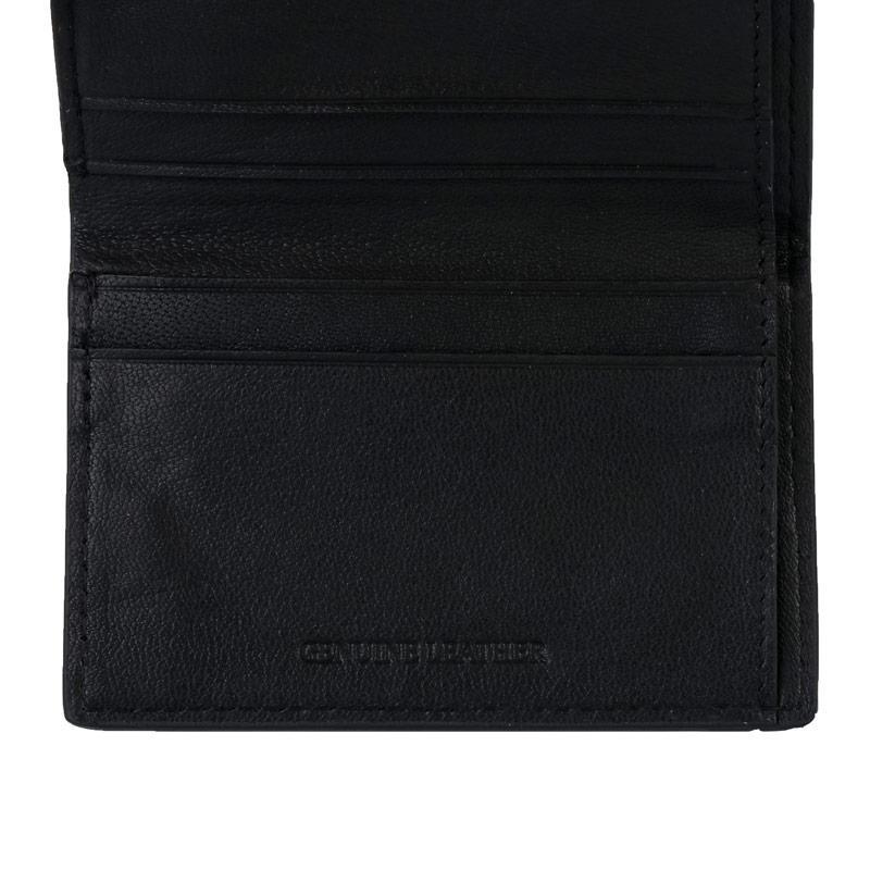 Ben Sherman Dack Leather RFID Card Holder Wallet Brown