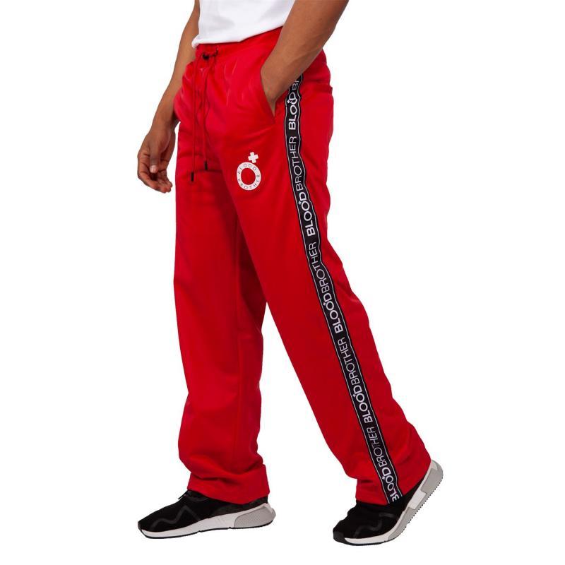 Tepláky Blood Brother Poppa Track Pants Red