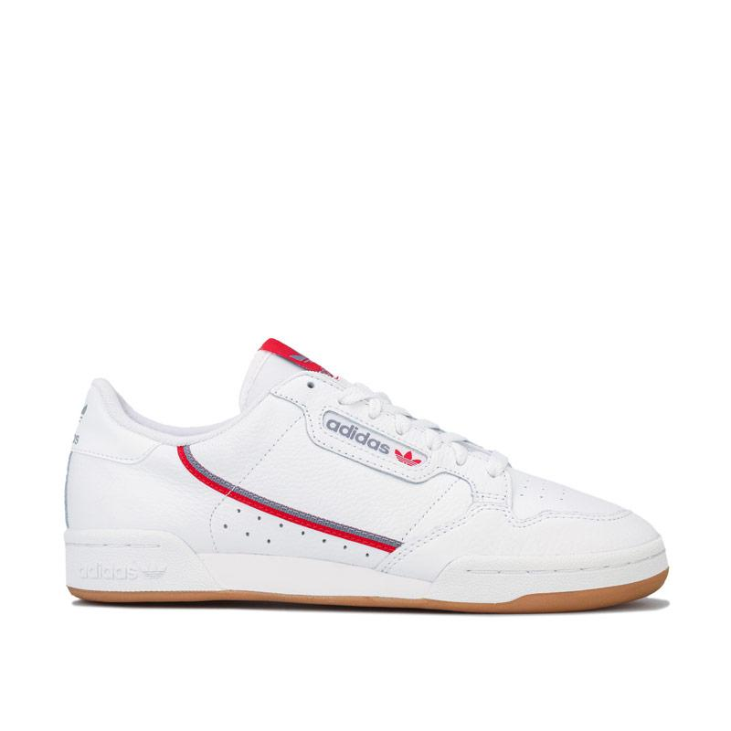 Boty Adidas Originals Continental 80 Trainers White Grey